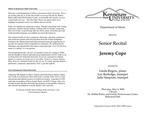 Senior Recital: Jeremy Cope, trumpet