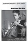 2017 Mixed Chamber Music Recital