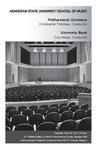 Philharmonic Orchestra and University Band