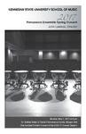 2017 Percussion Ensemble Spring Concert