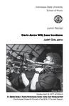 Junior Recital: Devin Aaron Witt, bass trombone