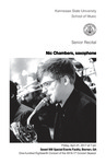 Senior Recital: Nic Chambers, saxophone