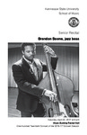 Senior Recital: Brandon Boone, jazz bass by Brandon Boone, Boyce Griffith, Will Fulkerson, and Robert Boone