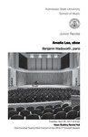 Junior Recital: Amelia Lee, oboe