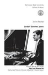 Junior Recital: Jordan Sommer, piano