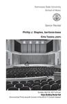 Senior Recital: Phillip J. Staples, baritone-bass