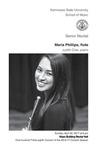 Senior Recital: Maria Phillips, flute