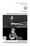 Junior Recital: Michael Berry & Michael Ollman, percussion