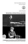 Junior Recital: Michael Berry & Michael Ollman, percussion