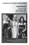 Faculty Piano Trio
