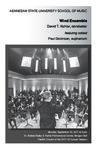 Wind Ensemble featuring soloist Paul Dickinson, euphonium