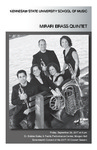 "Mirari Brass Quintet, ""Renewed, Reused, Recycled"""