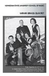 "Mirari Brass Quintet, ""Renewed, Reused, Recycled"""