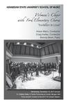 Women's Choir with Ford Elementary Chorus