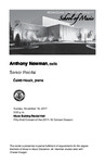 Senior Recital: Anthony Newman, cello
