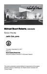 Senior Recital: Michael Stuart Roberts, violoncello