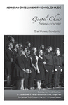 Gospel Choir Spring Concert