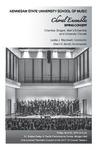 Choral Ensembles Spring Concert