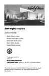 Junior Recital: Josh Inglis, saxophone