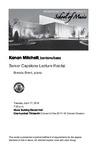 Senior Capstone Lecture Recital: Kenan Mitchell, baritone/bass