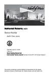 Senior Recital: Nathaniel Roberts, violin