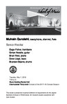 Senior Recital: Muhsin Quraishi, saxophone, clarinet, flute