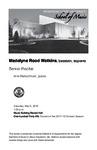 Senior Recital: Madelyne Rood Watkins, bassoon, soprano