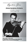Atlanta Symphony Orchestra; Jun Märkl, Conductor and Giora Schmidt, violin