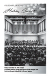 KSU School of Music Holiday Concert