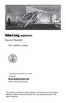 Senior Recital: Mike Long, euphonium