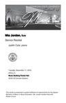 Senior Recital: Mia Jordan, flute
