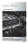 Faculty Recital: Robert Henry, piano