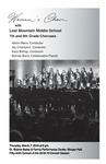 Women's Choir with Lost Mountain Middle School 7th and 8th Grade Choruses by Sean Thrower, Lorin Green, and Brenda Brent