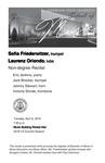 Non-degree Recital: Sofia Friederwitzer, trumpet and Laurenz Oriondo, tuba
