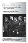 Men's Extravaganza, KSU Men's Ensemble and Chamber Singers with special guests Sequoyah High School Men's Chorus