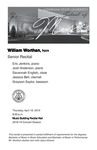 Senior Recital: William Worthan, horn