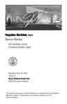 Senior Recital: Hayden McAfee, horn