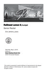 Senior Recital: RaSheed Lemon II, trumpet by RaSheed Lemon II and Eric Jenkins