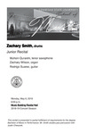 Junior Recital: Zachary Smith, drums by Zachary Smith, Muhsin Quraishi, Zachary Wilson, and Rodrigo Suarez