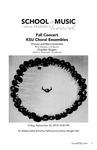 Fall Concert - KSU Chorale, Men's Ensemble, & Chamber Singers by Leslie J. Blackwell, Reid J. Masters, and Sherri Barrett