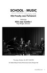 KSU Faculty Jazz Parliament