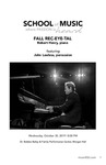 FALL REC-EYE-TAL: Robert Henry, Piano
