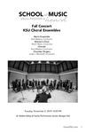 KSU Choral Ensembles Fall Concert