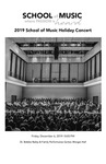 School of Music Holiday Concert by Reid Masters, Alison Mann, David Kehler, Leslie J. Blackwell, and Nathaniel F. Parker