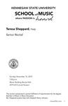 Senior Recital: Teresa Sheppard, Harp by Teresa Sheppard