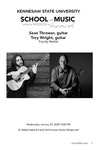 Faculty Recital: Sean Thrower & Trey Wright, Guitar by Sean Thrower and Trey Wright