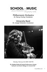 Philharmonic Orchestra and University Band by Nancy Conley and Joseph Scheivert
