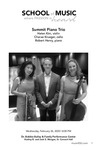 Summit Piano Trio by Helen Kim, Charae Krueger, and Robert Henry