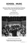 KSU Symphony Orchestra by Nathaniel F. Parker, Alice Zhang, and Keshav Anand