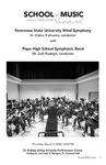 KSU Wind Symphony with Pope High School Symphonic Band by Debra Traficante and Joshua Rudolph
